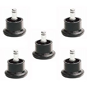 5 x Office Chair Glider / Glide Castors  NEW, Buenisima idea para reemplazar ruedas